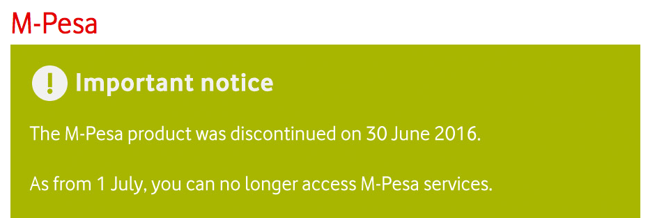 Third Time's Not A Charm: M-PESA's South African Flop
